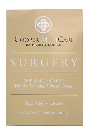 Cooper MediCare Surgery Sign